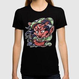 SNAKE DEMON ART DESIGN T-shirt
