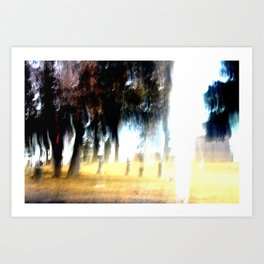 Ghost Forest Art Print