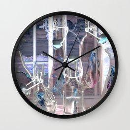 Bottled Mermaids Wall Clock