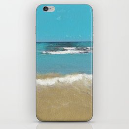Palm Beach Waves iPhone Skin