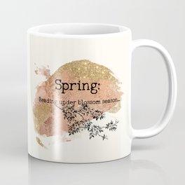 Spring Reading Coffee Mug