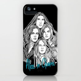 A Band Called Alice 2 iPhone Case