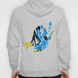 """just keep swimming"" (Finding Nemo- Dory) Hoody"