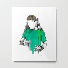 Alexis Metal Print