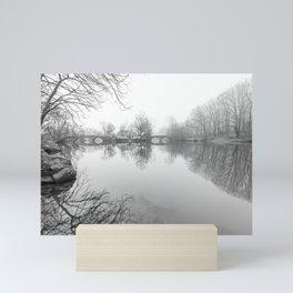 Double Bridges - Clove Lakes Mini Art Print