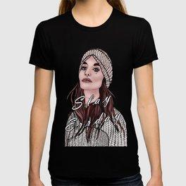 Slay Errday Tuff Girl Illustration T-shirt