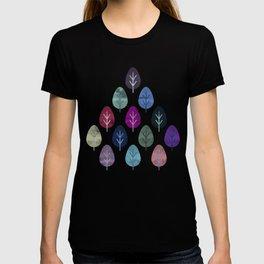 Watercolor Forest Pattern II T-shirt