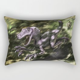 Brave Lizard Rectangular Pillow