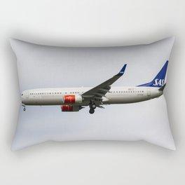 Scandinavian Airlines Boeing 737 Rectangular Pillow