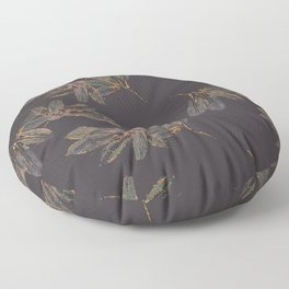Steel Magnolia Floor Pillow