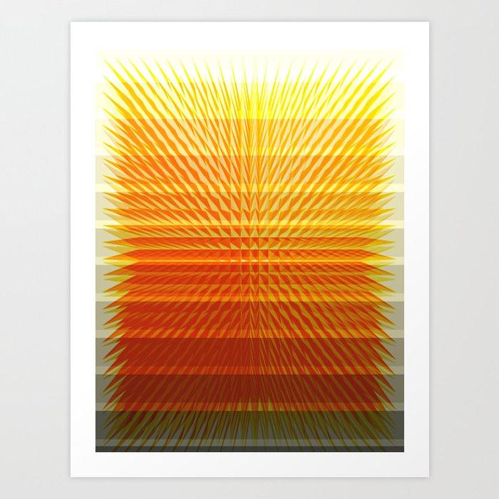 GOLD MINE Art Print