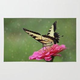 Bokehs and Butterflies Rug