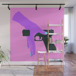STOP SHOOTING Wall Mural