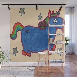 Karly's Unicorn Wall Mural