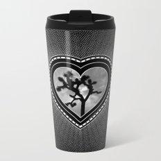 Joshua Tree Heart of the Hi-Desert by CREYES Metal Travel Mug