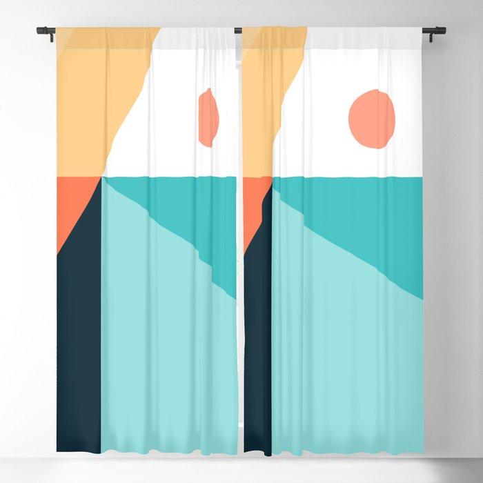 Geometric 1711 Blackout Curtain