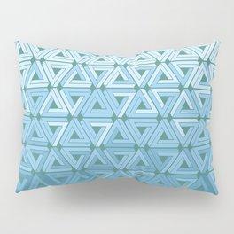 Glacial Air Geometric Pillow Sham