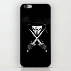 V for Vendetta (e7) iPhone & iPod Skin