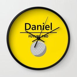 Golf Future Pro Wall Clock