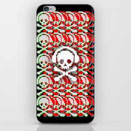 Holo Skulls iPhone Skin