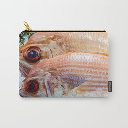 Catch of the day. Carry-All Pouch