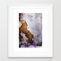 gnome Framed Art Prints featuring gnome by pixelplasma