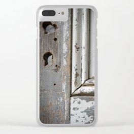 Old Door Clear iPhone Case
