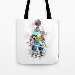 Death is like the Wind Tote Bag