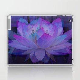 The Lotus in blue... Laptop & iPad Skin