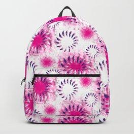 Fuchsia Twist Backpack