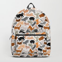 Cats Forever by Veronique de Jong Backpack