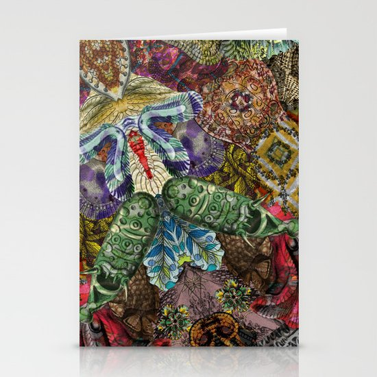 Psychedelic Botanical 5 Stationery Cards
