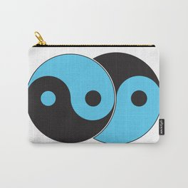 Reflections of Yin and Yang Carry-All Pouch