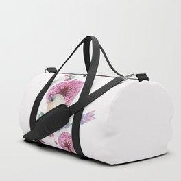 Cute Bird and Dandelion Duffle Bag