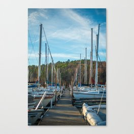 Boats on Boats on Boats Canvas Print