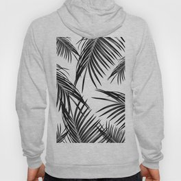 Black Palm Leaves Dream #1 #tropical #decor #art #society6 Hoody