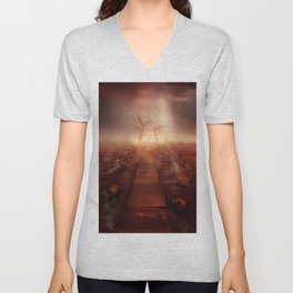 The path of the dead Unisex V-Neck