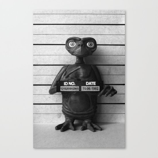 E.T. The Extra-Terrestrial Lineup Canvas Print