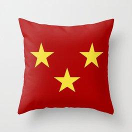 sutherland flag Throw Pillow