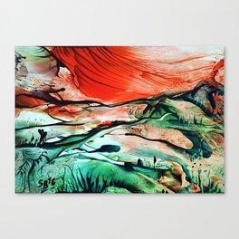 RiverDelta Canvas Print