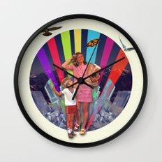 Like I Just Got Home Wall Clock