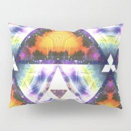 Prism Triangle Original Artwork by Rachael Rice Pillow Sham