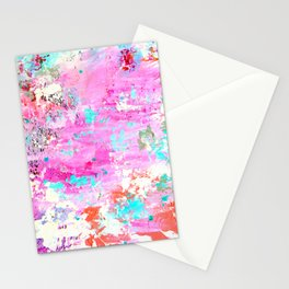Abstract printed phone case Stationery Cards