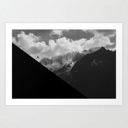Dance the Alps Art Print