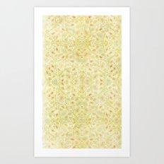 Pattern Texture #1 Art Print