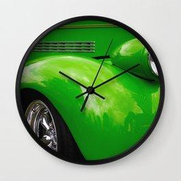 Green Machine Wall Clock
