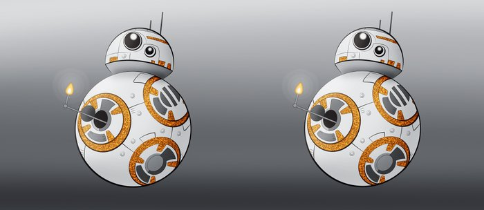 War in the Stars -- BB-8 Coffee Mug