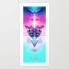 3-3-3 Art Print