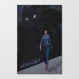 How to be a Werewolf: Chapter 6 Cover Canvas Print
