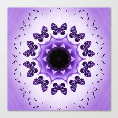 All things with wings (purple) Canvas Print